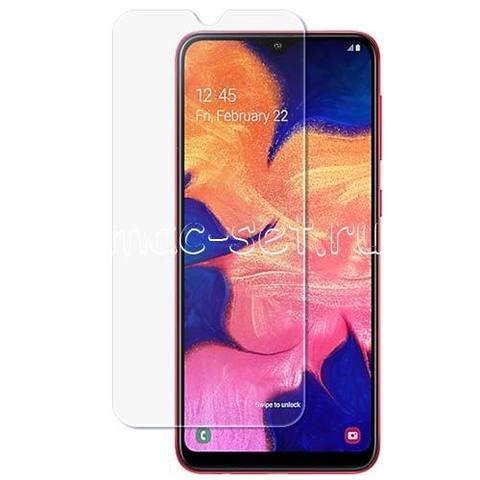 Защитное стекло для Samsung A10 (черное)