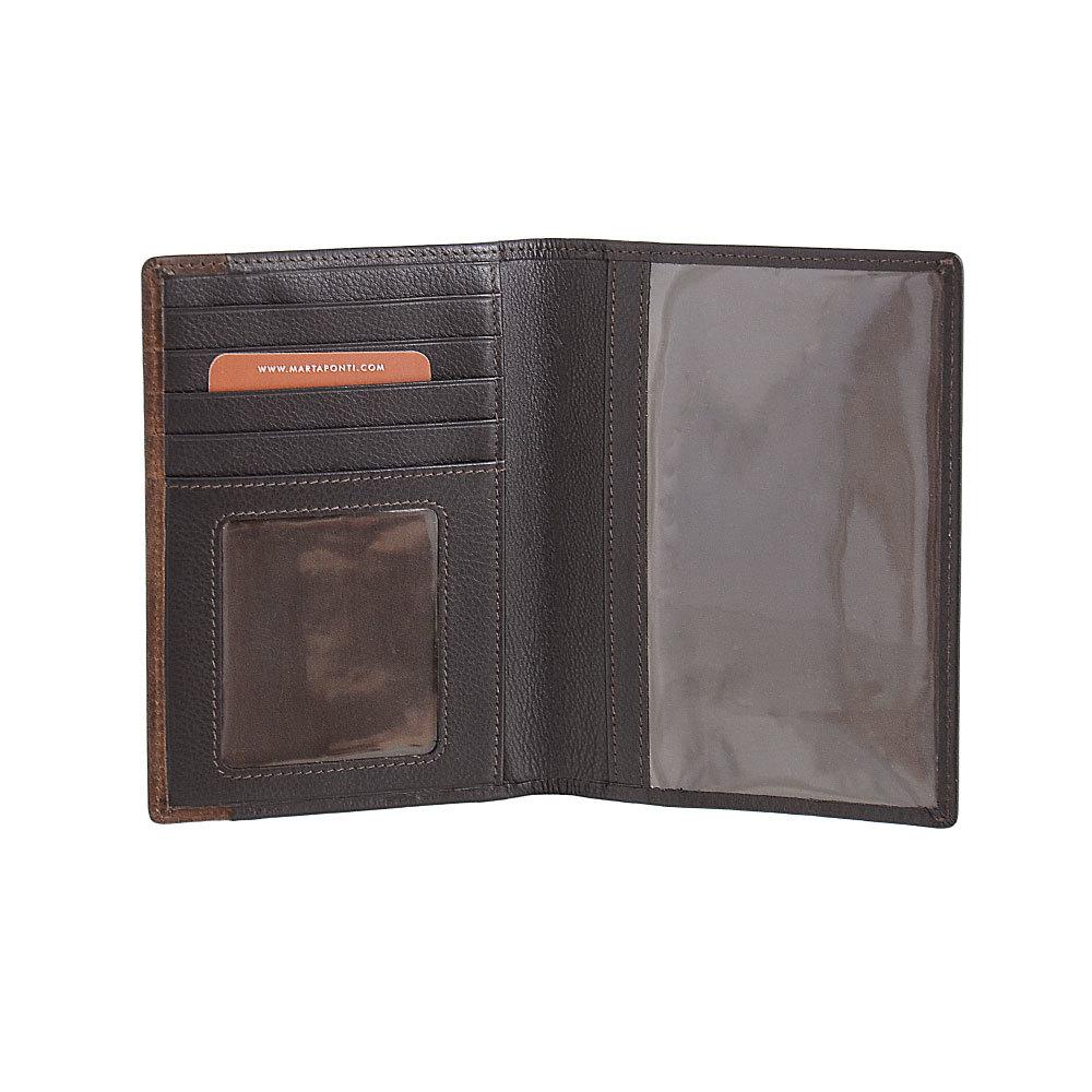 B123314R P Castanho - Обложка для паспорта с RFID защитой MP