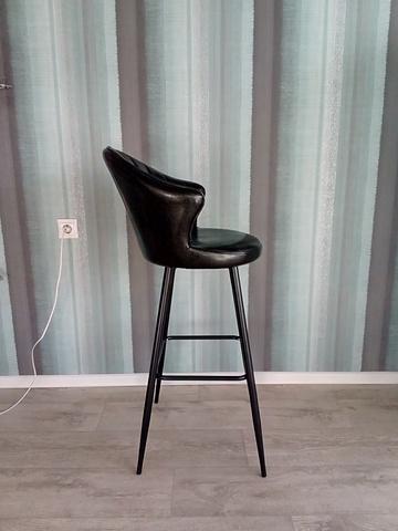 Интерьерный барный стул на четырех ножках Voyage Steel (стул администратора)