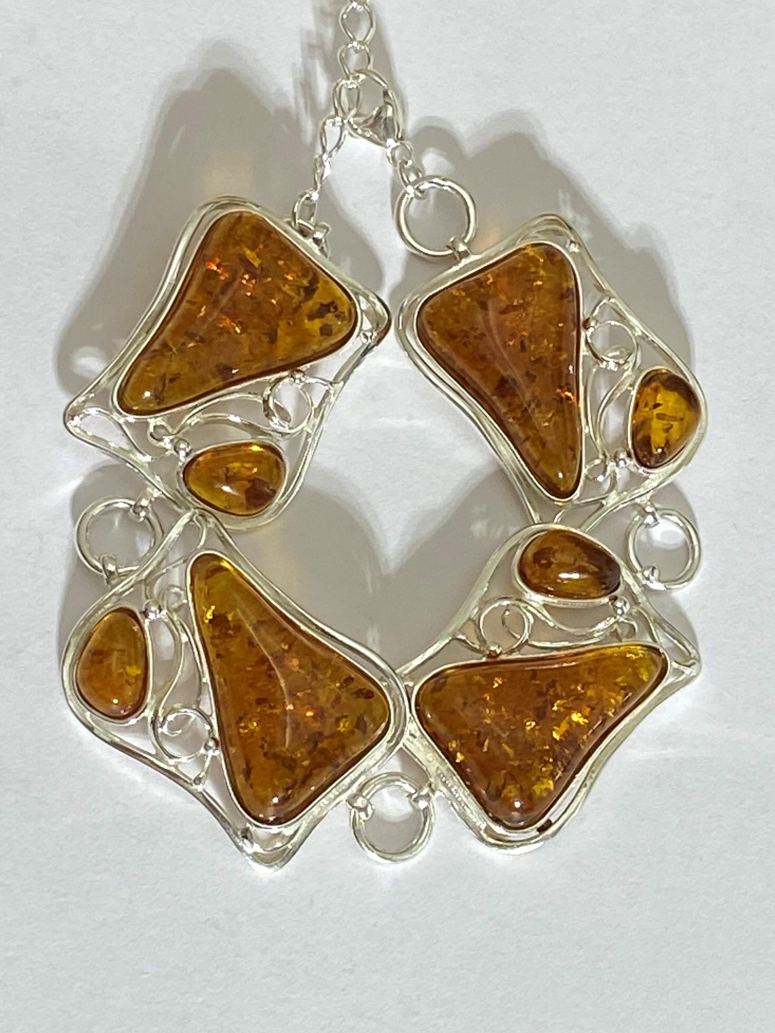 Светлогорск (браслет из серебра)