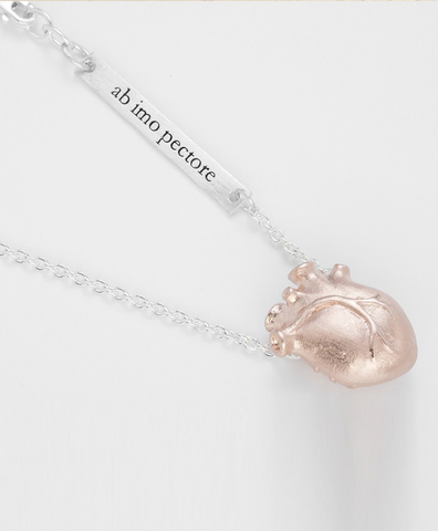 Подвеска Anatomic Heart Medium rose