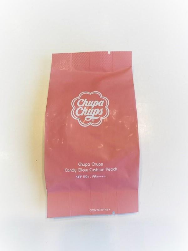 Запаска на кушон Chupa Chups Candy Glow Cushion Peach 3.0 Fair SPF50