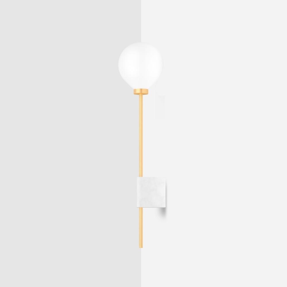 Настенный светильник Wishnya Lanta мрамор - вид 1