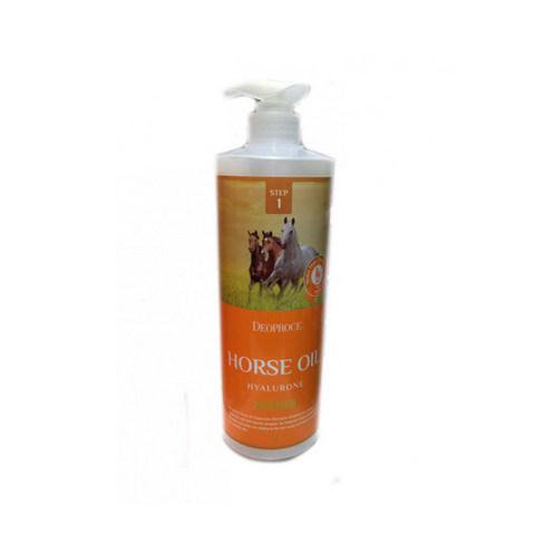 DEOPROCE Horse Шампунь с гиалуроновой кислотой и лошадиным жиром DEOPROCE HORSE OIL HYALURONE SHAMPOO 1000мл