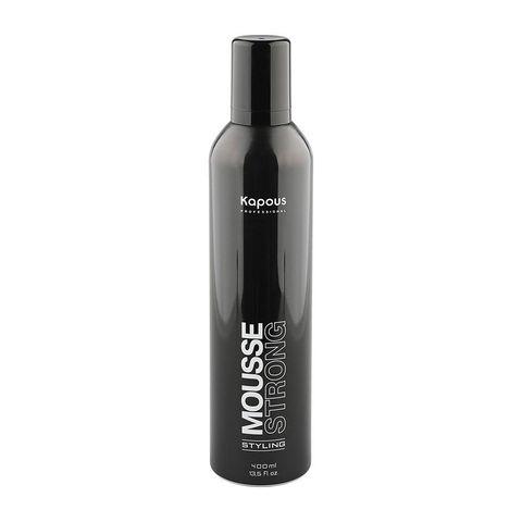 Kapous Professional Мусс для укладки волос сильной фиксации «Mousse Strong», 400 мл