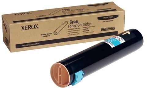 Оригинальный картридж Xerox 106R01160 голубой