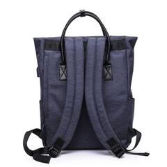 Сумка-рюкзак стильная для ноутбука 15,6 Tangcool 703 синий
