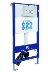 Система инсталляции для подвесного унитаза Aquatek Slim INS-0000002 белая R