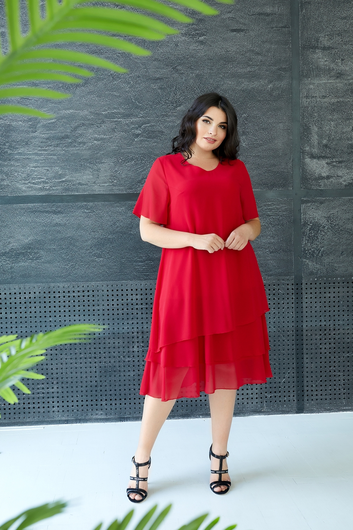 Сукня Марина 2 (червоний)
