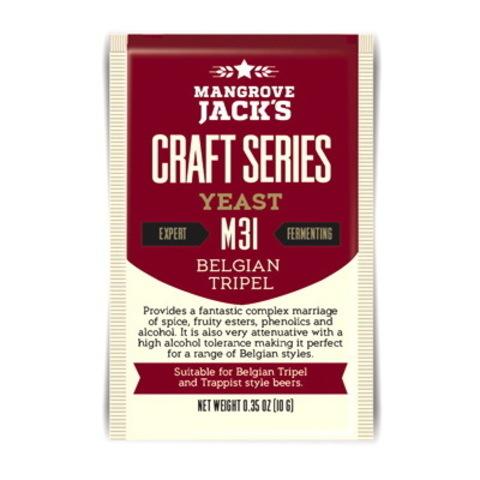 Дрожжи Mangrove jack's M31 Belgian tripel на 23 литра пива
