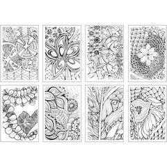 Раскраска-склейка Chameleon Color Cards Zen