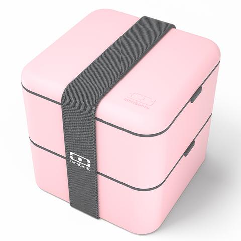 Ланчбокс Monbento Square (1,7 литра), розовый