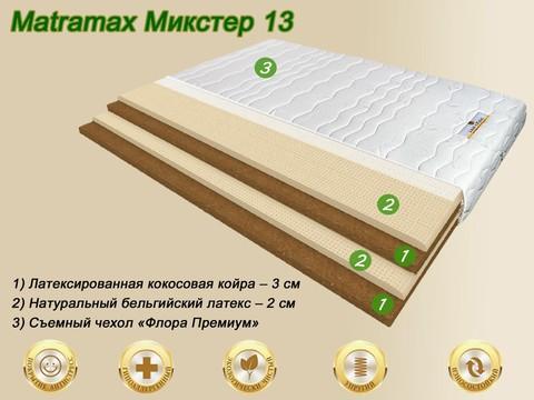 Матрас Матрамакс Микстер 13 купить недорого от Мегаполис-матрас