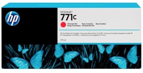 Оригинальный картридж HP B6Y08A 771 красный
