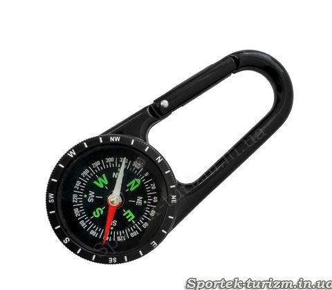 Брелок-компас с карабином