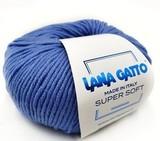 Пряжа Lana Gatto Supersoft 14341 василек