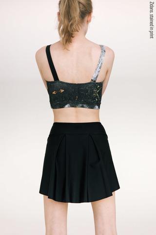 The Skirt Stretches basic | black