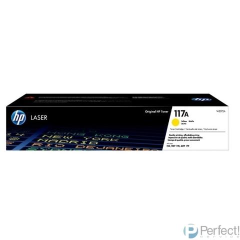 HP W2072A Картридж 117A лазерный, желтый  (700стр.)