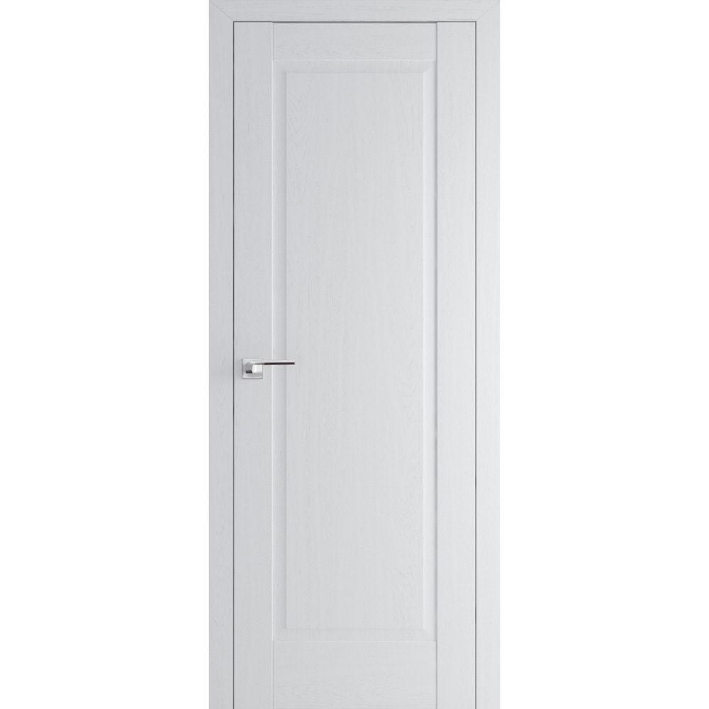 В классическом стиле Межкомнатная дверь экошпон Profil Doors 100X пекан белый глухая 100X-pekan-beliy-min.jpg