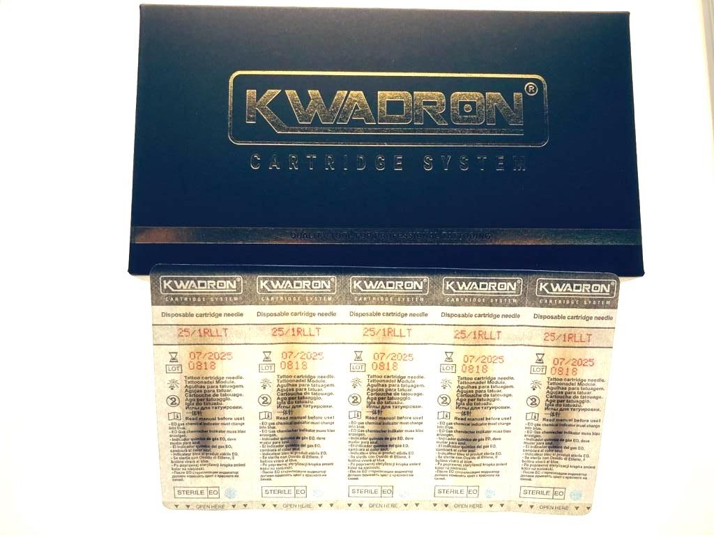 """KWADRON Round Liner 25/1RLLT -20 шт упаковка. Модули для татуажа"