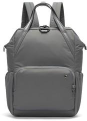 Женский рюкзак Pacsafe Citysafe CX серый, 17 л