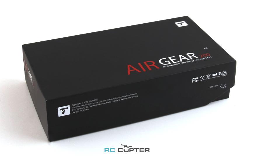 T-Motor Air Gear 200 (комплект) (x4 AIR2205 KV2000 + x4 6.5х3.5)