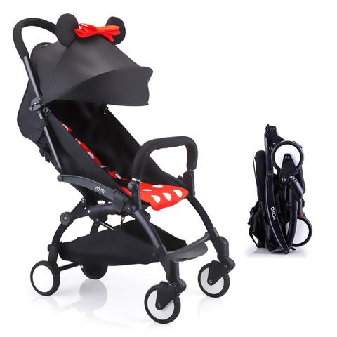 Детская коляска Yoya 6+ Минни напрокат