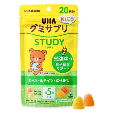 UHA Study со вкусом мандарина  и лимона для детей с 2-х лет