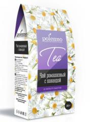 Polezzno ромашковый чай с лавандой 30 г