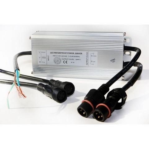 Драйвер RGB 36Вт 12В DC для 2-х LED светильников 15(12)Вт типа TLQP PoolKing