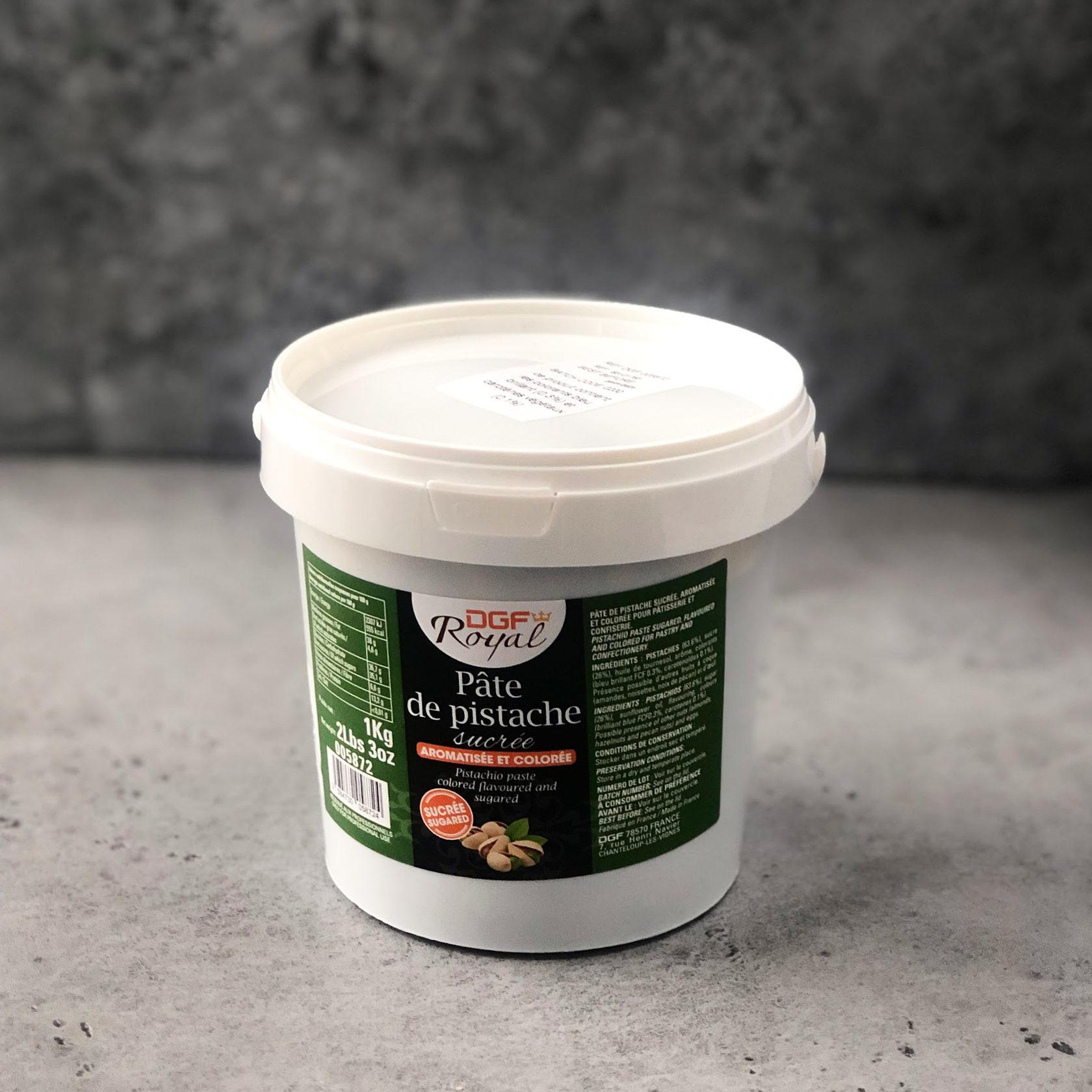 Фисташковая паста DGF Royal с ароматизатором 63,6%, 1 кг