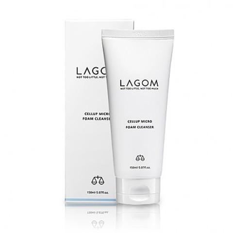 LAGOM CELLUP MICRO FOAM CLEANSER 150ml