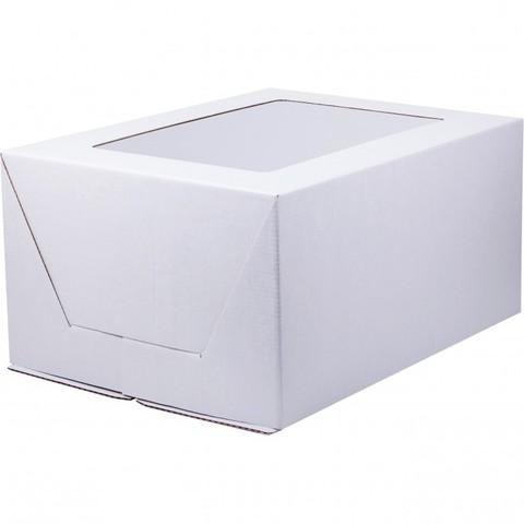 Коробка для торта с окном, 30*40*20см