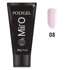MirO, Полигель №8, светло-розовый, 30 г