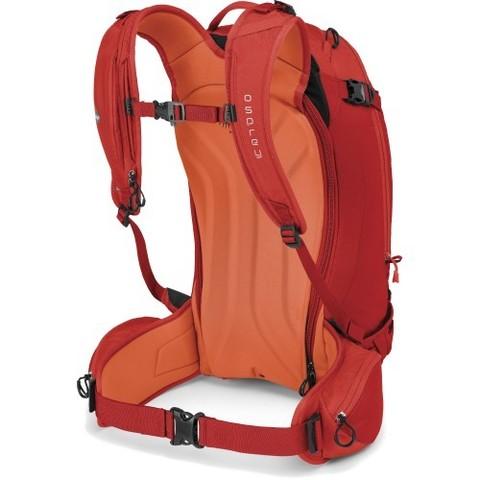 Картинка рюкзак горнолыжный Osprey Kamber 32 Ripcord Red - 2