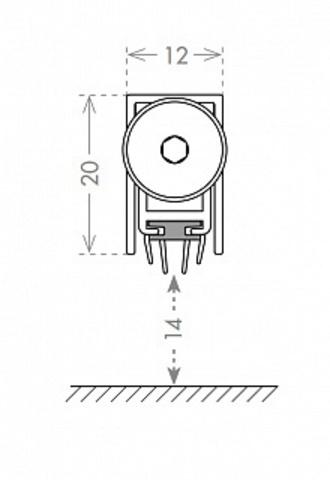 Автоматический порог EASY TREND ASTD A/830 схема