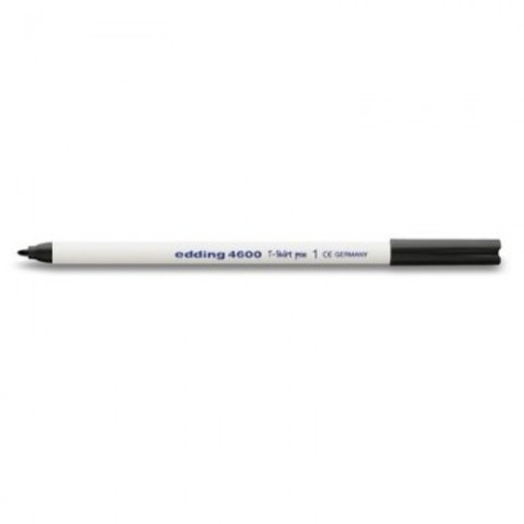 Маркер промышленный Edding E-4600/1 для текстиля черный (1 мм)