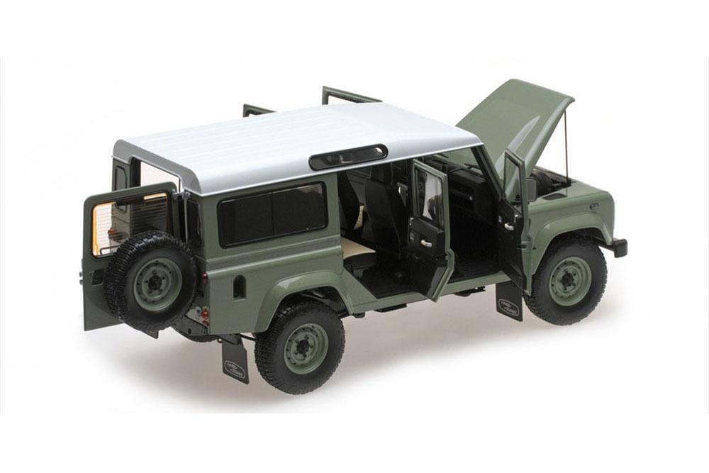 Коллекционная модель LAND ROVER DEFENDER 110 HERITAGE EDITION 2015 GREEN