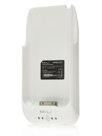 MiLi Power Pack (HI-C10) – дополнительный аккумулятор для iPhone 3G(S) (White)