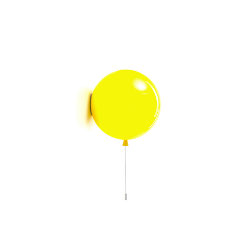 Настенный светильник копия MEMORY by Brokis D 25 (желтый)