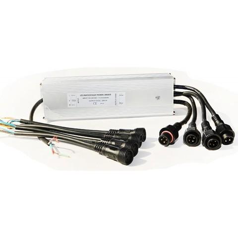 Драйвер RGB 100Вт 12В DC для 4-х LED светильников 20(15,12)Вт типа TLQP PoolKing