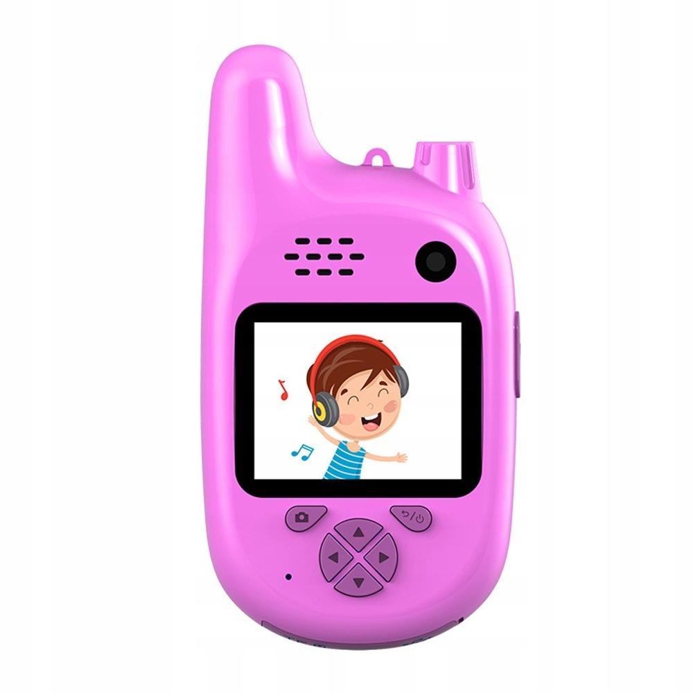 Детский цифровой фотоаппарат с рацией
