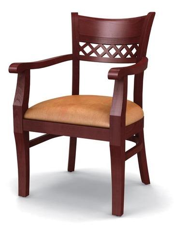 Кресло для ресторана Карлсберг - массив дерева (бук)