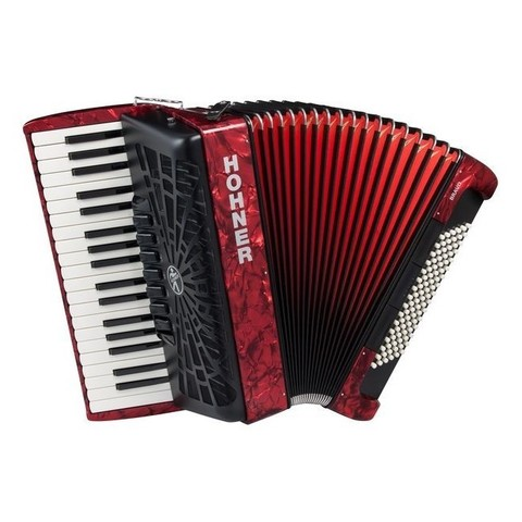 Аккордеон HOHNER The New Bravo III 96 red (A16731)