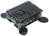 Корпус для Raspberry Pi 4 с креплением VESA (LT-4B17 / акрил / чёрный)