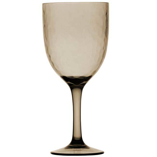 WINE GLASS, SMOKE 6 UN