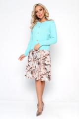 """<p>Кардиган """"Либерти"""" создает уютный и в то же время стильный образ. Отлично сочетается с платьем """"Океан любви"""" из новой коллекции.</p>"""