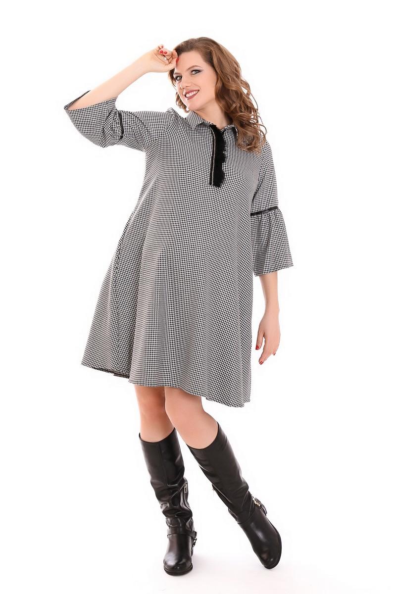 Платье для беременных 09211 черный