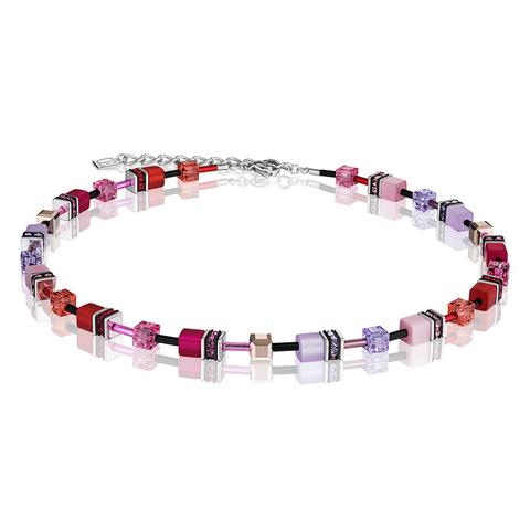 Колье Coeur de Lion 2838/10-0325 цвет розовый, фиолетовый
