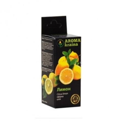 Масло лимона Aroma Kraina, 10 мл.